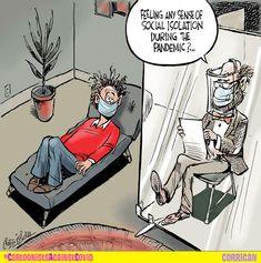 Funny Cartoon Pictures, Cartoon Jokes, Funny Cartoons, Funny Jokes, Hilarious, Cartoon Posters, Satire, Psychology Jokes, Therapy Humor