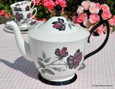 Royal Albert 'Masquerade' Vintage China Teapot