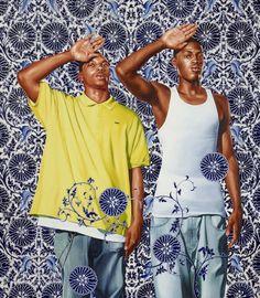 The painter who remixes classical European art with black urban youth — Quartz