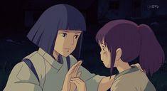 "HaKu et Chihirø ""Friends"" ⭐ Haku ""Esprit de la rivière Kohaku"" • Chihiro Ogino ""Humaine"" ~ Film d'Animation : Le Voyage de Chihiro ~ [❤_Studio_Ghibli_❤] ~ [✨GiF✨]"