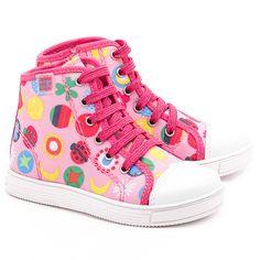82e4be7a77356 AGATHA RUIZ DE LA PRADA - Botin - Różowe Nylonowe Trampki Dziecięce - 142925