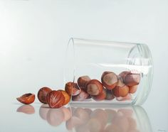"""Nuts"" Hyperrealistic Paintings by Ruddy Taveras"