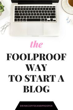 The easiest way to start a blog. Set up your new blog, start to finish in under an hour! Find out my favorite resources and tools to skyrocket your income and help you stay organized!