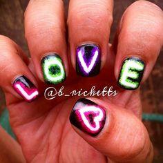 valentine by b_ricketts #nail #nails #nailart