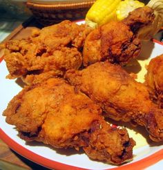 Recipe for Southern Fried Chicken - Sometimes you just need say what the heck and indulge in some sinfully rich food.