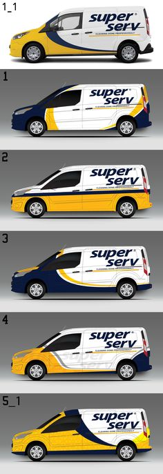 just a few colors, you could do an eye-catching wrap Vehicle Signage, Vehicle Branding, Van Signwriting, Auto Logo, Eco Friendly Cars, Vans Logo, Van Wrap, Car Signs, Old Classic Cars