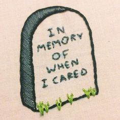 Most current No Cost Embroidery Patterns funny Popular In Erinnerung daran, wann ich mich gekümmert habe: Stickerei – Stupid Funny Memes, Funny Relatable Memes, Haha Funny, Hilarious, Funny Humour, Funny Pics, Crewel Embroidery, Embroidery Kits, Funny Embroidery