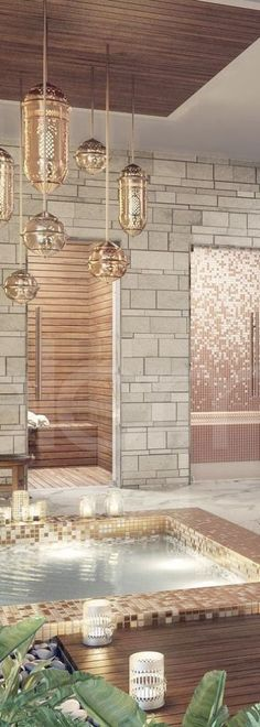 Lighting Elements Design - Stunning Spa