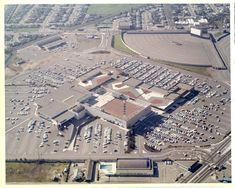Here's one to boggle the mind. This is an aerial of Macy's Valley Fair. Note the drive-in movie theatre in the top right.