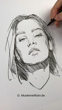 3d Art Drawing, Art Drawings Sketches Simple, Pencil Art Drawings, Realistic Drawings, Horse Drawings, Pen Art, Art Sketchbook, Face Art, Celebrity Drawings