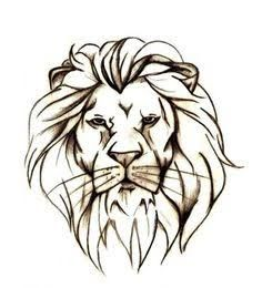 SIMPLE LION TATTOO - Google Search