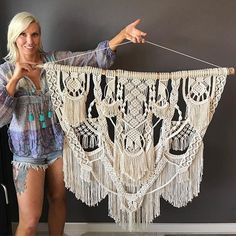 And one more pic #maramelove #spelldesigns #weaving #boho #bohostyle #macramewallhanging