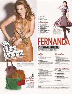 Revistas - NAVARRO TEAM revista FERNANDA WWW.navarroteamoficial.com