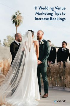 The average couple spends about half their wedding budget on their venue — and with good reason. The venue is the setting for the big day, and couples want it to be perfect. With stiff competition from dozens of types of venues, all of which have something unique to offer, wedding venue marketing is a crucial component of any location's business plan.