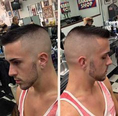 Mens High and Tight Hair