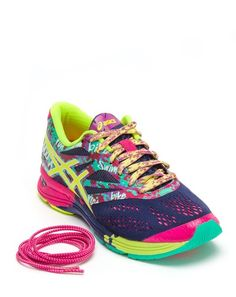 Lacivert Asics Bayan Spor Ayakkabı Noosa Tri 10