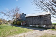 Barn at 10249 RR 1, Uxbridge Shed, Barn, Outdoor Structures, House Styles, Home Decor, Converted Barn, Decoration Home, Room Decor, Barns