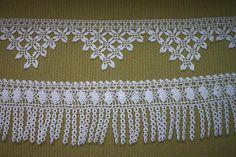 free knitting pattern: free best towel edge lace models 2012