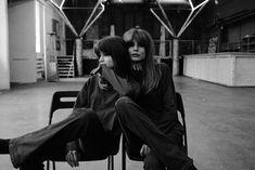 Twins. Elegance, style, rock'n'roll. Inspired by free people: Jane Birkin, Sophie Morseau, Brigitte Bordeaux. PH #by_ohsmirnova