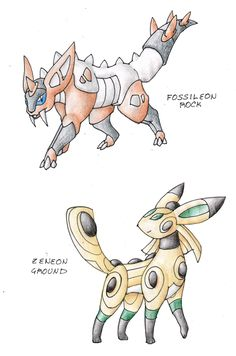Awesome fakemon eeveelutions