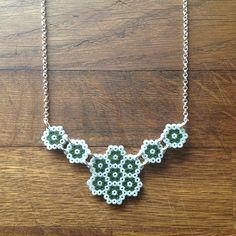 Necklace hama mini beads by prettyrandomthings_rach_elske