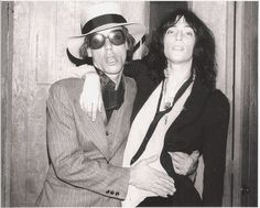 Iggy Pop and Patti Smith