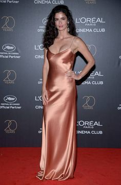 Shermine Shahrivar attends the Gala 20th Birthday Of L'Oreal In Cannes during the 70th annual Cannes Film Festival at Martinez Hotel on May 24 2017...