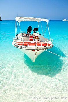 / #summer #ocean #boat #sea