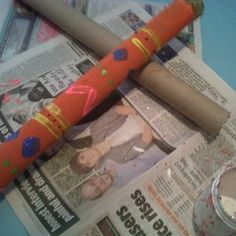 How to make Peruvian Rain Sticks - ideal rainy-day fun and crafts for children