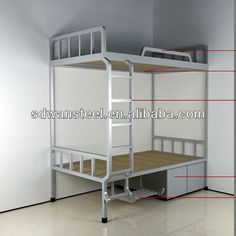 metal double bunk bed/adult metal bunk beds/steel army bunk bed $100~$120