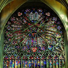 Amiens Cathedral Glass