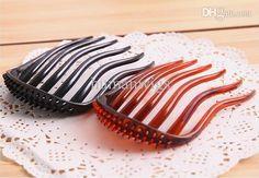 haar-Hersteller-Haar-Stifte einfügen kamm haarnadel fork hufschmiede einfügen kamm, puffy pony, werkzeuge für