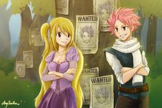 NaLu - Fairy Tail/Tangled by SunHee2244.deviantart.com on @deviantART