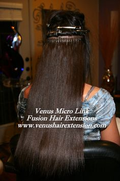 Micro ring hair extensions hair styles pinterest micro ring venus micro links hair extensions is the best hair extensions method also known as micro link hair extensions micro beads hair extensions and micro loops pmusecretfo Choice Image