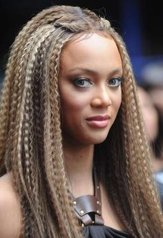 Lol Tyra decided to resurrect her crimping iron??