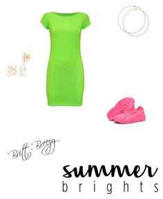 """""""Untitled #145"""" by breezy-bree21 on Polyvore featuring WearAll, Charlotte Russe, NIKE, Wet Seal and summerbrights"""