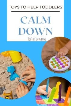 Calm Down Toys for Toddlers - Ease Anxiety and Reduce Tantrums Toddler Toys, Toddler Activities, Bedtime Stories For Toddlers, Bubble Popper, Diy Sensory Toys, Folder Games, Fidget Toys, Calm Down, Early Childhood Education