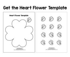 Flower Craft Template