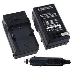 Nikon EN-EL9 / EN-EL9A Premium Compatible Battery Charger Set for Nikon D40 / D40x / D60 / D5000 / D3000 Digital Camera