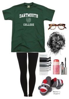"""""""Homecoming Week: Day One- Pajama Day"""" by lalalanie ❤ liked on Polyvore featuring Pieces, tarte and Benefit"""