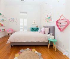 Pretty.... Simple, pastel perfection. Deco peques, el precioso dormitorio de Ava y .. SORTEO!