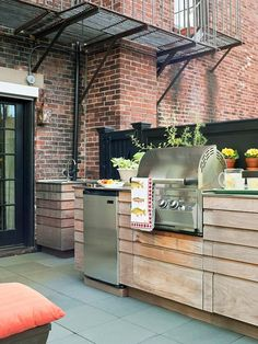 Apartment Therapy Outdoor Kitchen