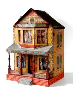Victorian Doll House Bliss Style Lithographed Paper by bigbangzero, $650.00