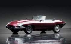 famous actors and actresses posing with jaguar etype - Google Search