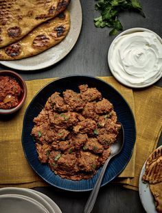 Nadiya Hussain's easy and speedy Lamb Bhuna uses a quick paste that you can store in your freezer ready for whenever a curry craving strikes! Fried Fish Recipes, Lamb Recipes, Curry Recipes, Indian Food Recipes, Vegetarian Recipes, Cooking Recipes, Vegetarian Chicken, African Recipes, Savoury Recipes