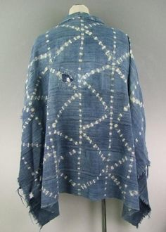 11AW AFRICAN INDIGO FABRIC Handmade Clothes, Slow Fashion, What I Wore, Muse, Indigo, Kimono Top, Bell Sleeve Top, African, Japanese