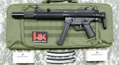 """HK MP5SD """"MASTER CHIEF"""" SUBMACHINE GUN - AV Guns - Gun Point USA - POF-USA, LWRC, KRISS"""