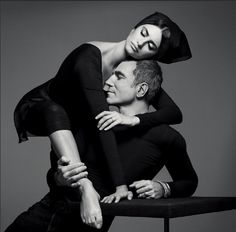 Penelope Cruz and Daniel Day-Lewis photographed by Inez van Lamsweerde and Vinoodh Matadin