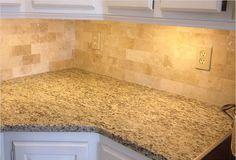 Light Beige Travertine Subway Tile Size Clean Look For Bathroom Backsplash