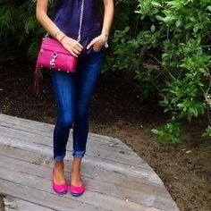 Fuchsia Tieks - Pink Designer Leather Ballet Flats...I'm gonna need these!
